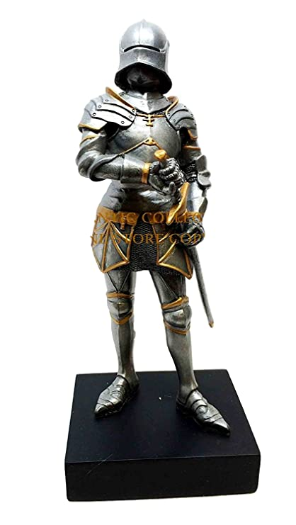 Amazon.com: Caballero medieval Gótico Traje Corto De ...