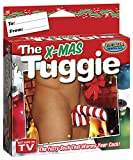 The X-Mas Tuggy Fuzzy Underwear, Red/White, One Size