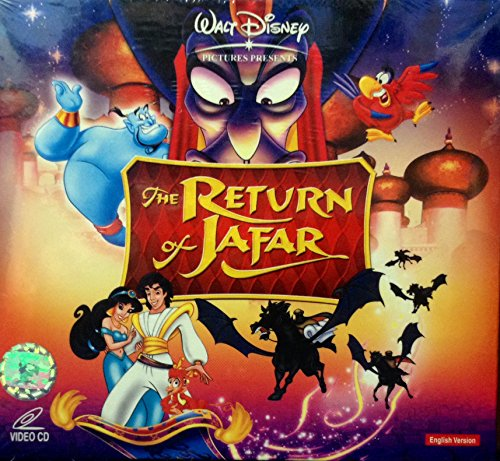 THE RETURN OF JAFAR by WALT DISNEY***IMPORTED FROM HONG KONG***