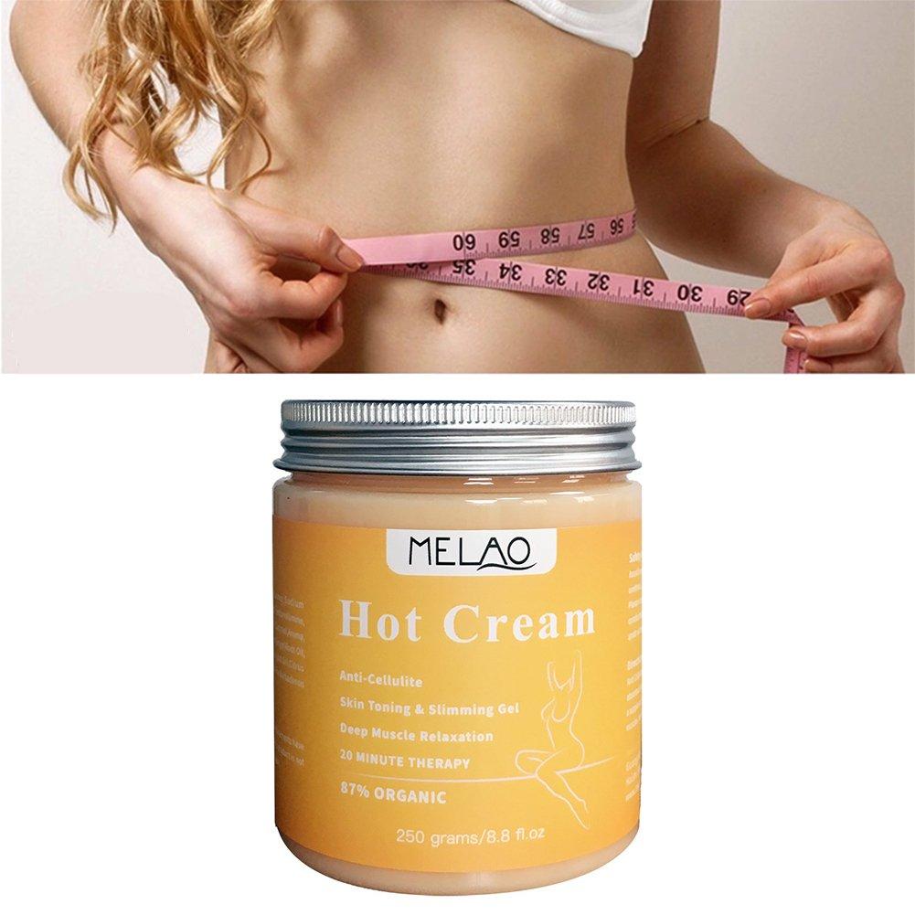 Anti-Cellulite Creme, Abnehmen Gewichtsverlust Creme Massage Creme, Strafft die Haut - Muskelentspannungscreme, zur Verbesserung der Haut Kontur Gecorid