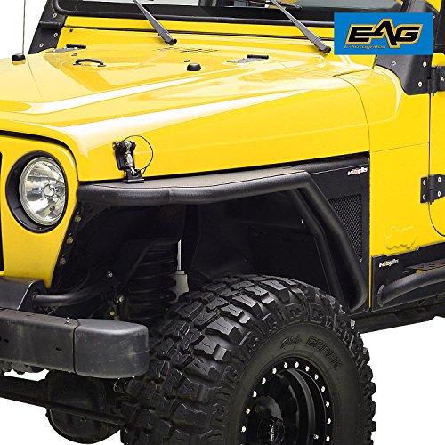 EAG 97-06 Jeep Wrangler TJ Front Tubular Fender Flare Rocker Guard