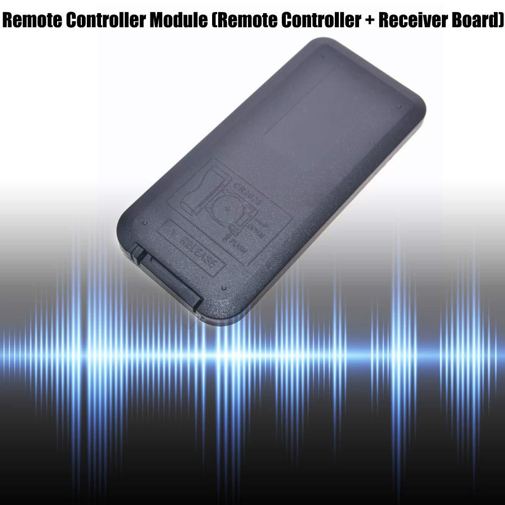 KOOBOOK 2Pcs Infrared IR Wireless Remote Control Sensor Module Kits for Arduino Remote Control + Receiver Board