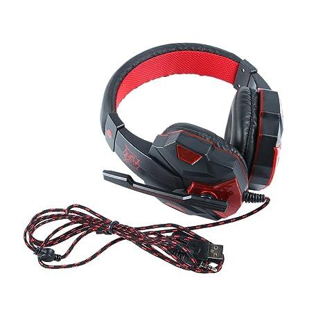 Sanzhileg Cuffie Gaming Bass Cuffie da Gioco comode per PS4 per Xbox One con  Microfono - 823c9890ee37