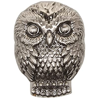 Harry Potter Hedwig Pewter Lapel Pin Novelty Accessory: Monogram: Toys & Games