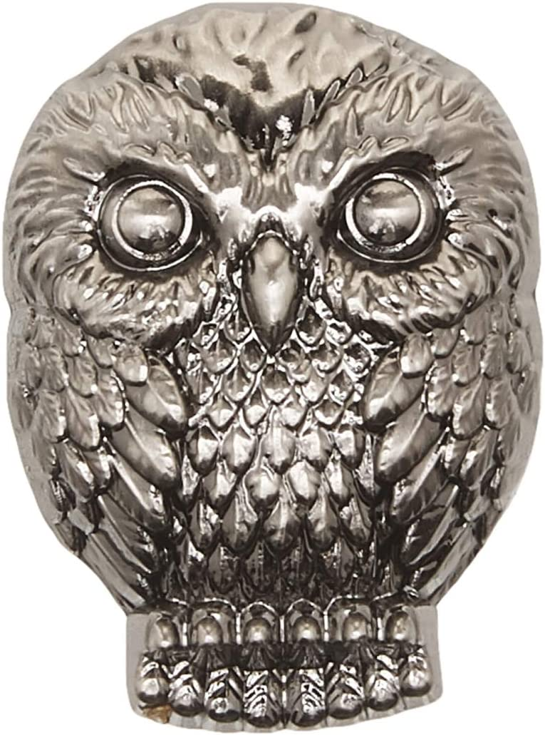 Harry Potter Snitch Pewter Lapel Pin Novelty Accessory,Silver,1
