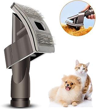 Queta Cepillo para Perros Gatos para Aspiradora Dyson v6: Amazon.es: Productos para mascotas