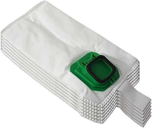 Kit de 6 bolsas (microfibra) + 6 ambientadores para aspiradora Vorwerk Folletto Kobold VK 140, 150, VK140, VK150: Amazon.es: Hogar
