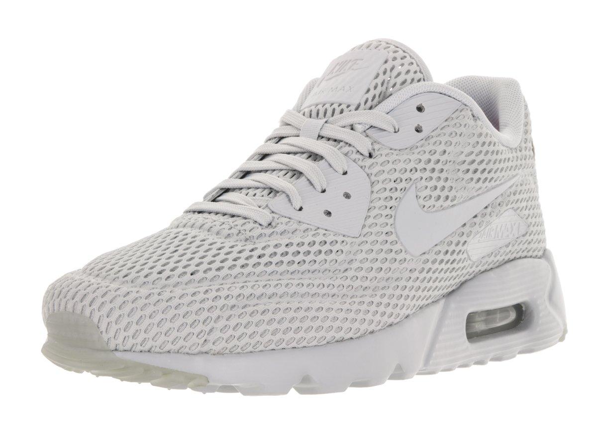 Nike Men's Air Max 90 Ultra BR Pr Platinum/Pr Pltnm/Pr Pltnm Running Shoe 13 Men US