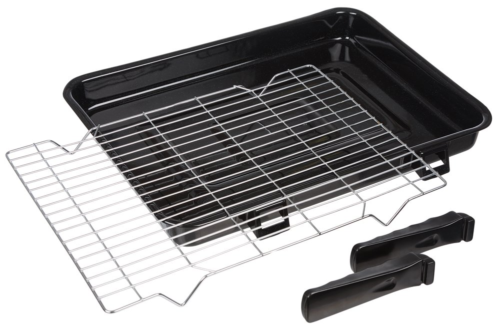 Invero® 2x Set of Universal Stainless Steel Adjustable Extendable Oven Cooker Rack Grill Cooking Tray Shelf - Adjusts from 39cm to 56cm Suitable for most Ovens