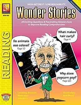 Amazon com: Wonder Stories (Reading Level 3) | Reproducible