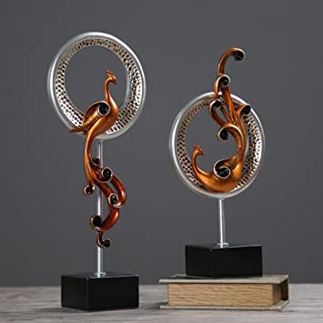 Moderne Minimalistische Abstrakte Skulptur Handwerk Wohnzimmer Schränke  Büro Dekorationen Wein Schränke Einrichtung Handwerk