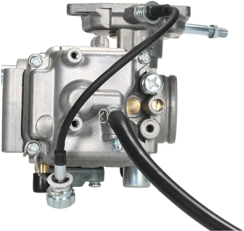 Rantoloys Carburador Carb para Yamaha Grizzly 450 YFM450 4WD 2007-2014