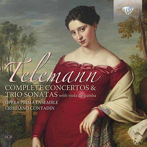 Telemann: Complete Concertos & Trio Sonatas [Box (Complete Trio Sonatas)