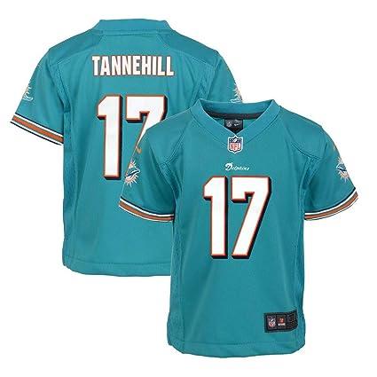 Amazon.com   Nike Ryan Tannehill Miami Dolphins Home Aqua Jersey ... 935fd3f68