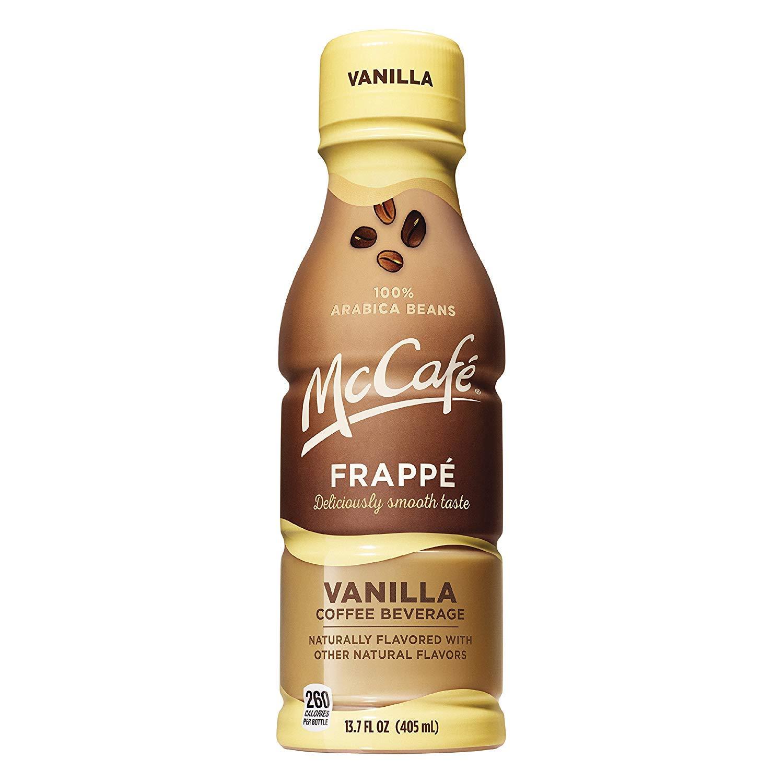 McCafe Frappe, Vanilla, 13.7fl.oz.(Pack of 12)
