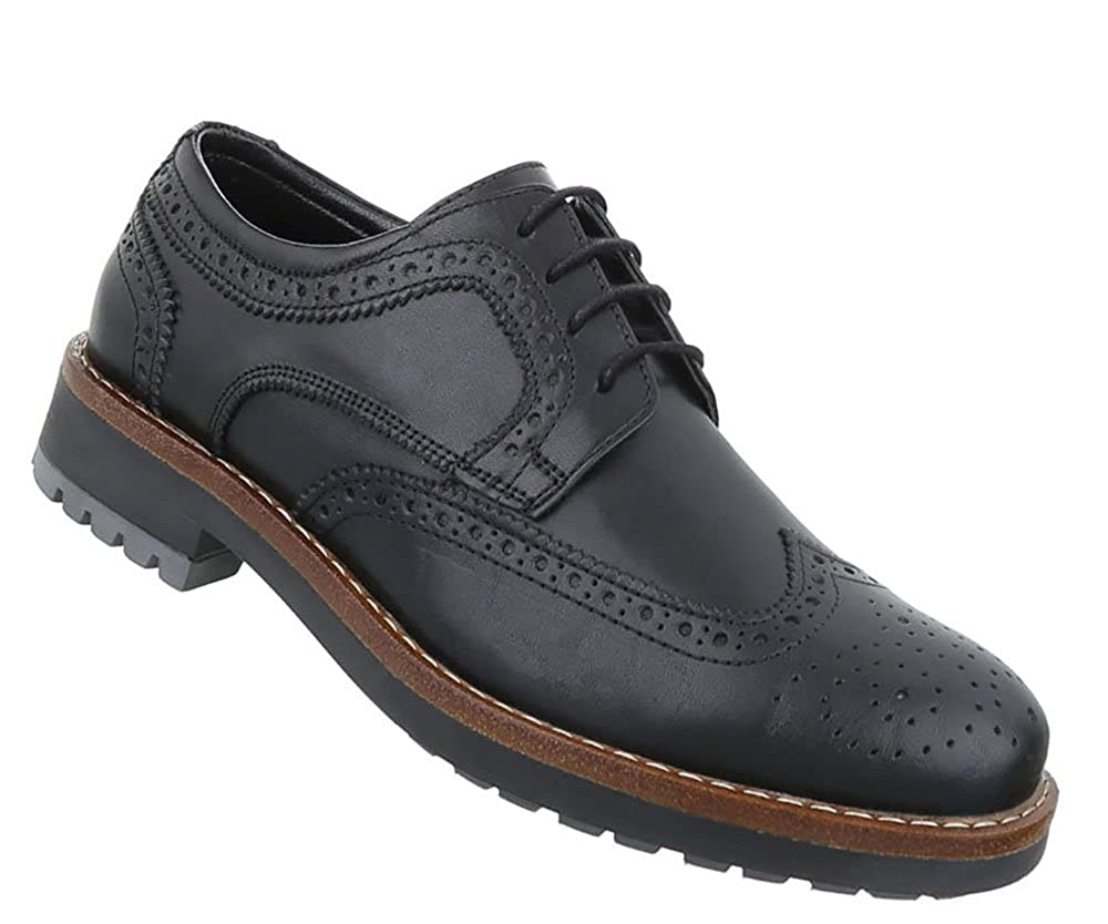 66234c2050 Herren Schuhe Elegante Echtleder Trendy Halbschuhe Schnürschuhe Business- Schuhe nogiog4877-Schnürhalbschuhe