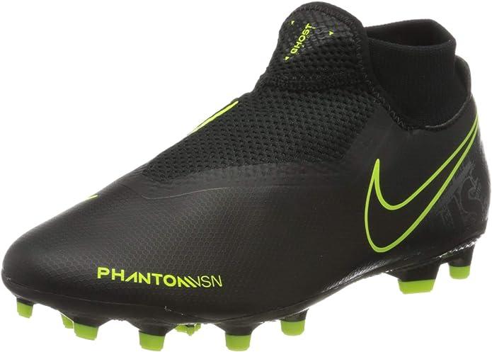 Botas de futbol negras
