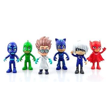 PJ Masks - MASKS BOY Nuevo Mejor 6 estilo Cool figura de acción muñecas y juguetes
