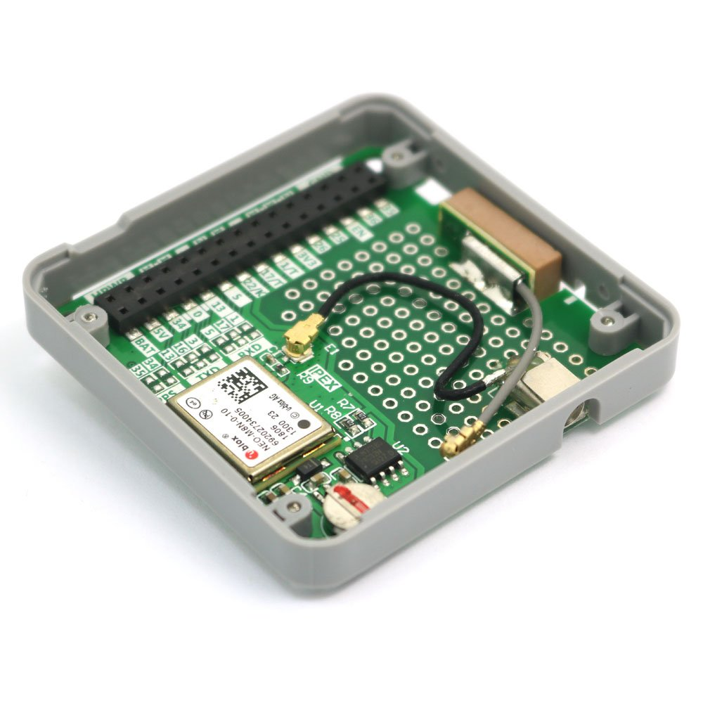 IoT impilabile per Arduino ESP32 ARCELI Modulo GPS M5Stack ESP32 Modulo GPS Neo M8N integrato con interfaccia MCX e Antenna GPS Incluso