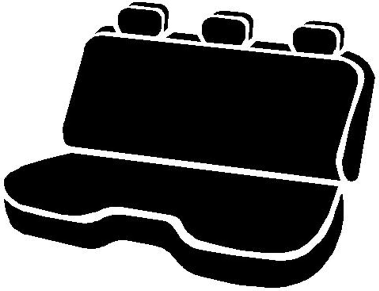 Saddle Blanket Fia Rear Bench Custom Fit Seat Cover Black