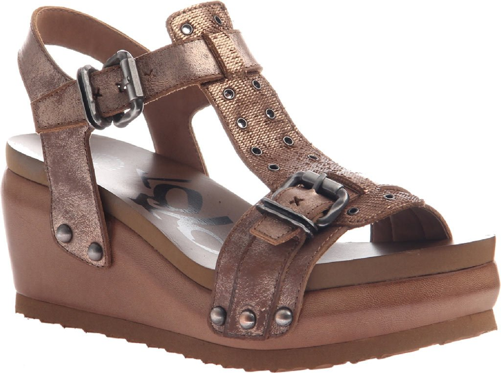 OTBT Women's Caravan Platform Sandal B01KN7MW64 7.5 B(M) US|Copper