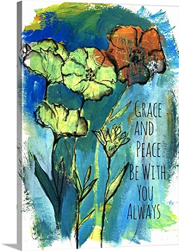 Christine Adolph Gallery-Wrapped Canvas entitled Grace and Peace