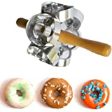 RUIMI Donut Maker Cutter 6 Sides Roller Revolving Mold Doughnut Tool Fondant Cake Bread Desserts Mould DIY Home Baking Round