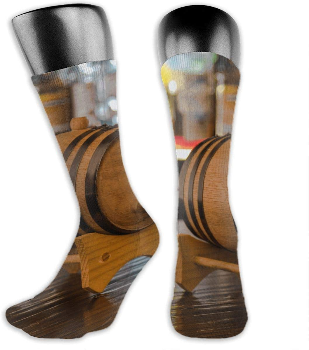 OLGCZM Whiskey Bucket Men Womens Thin High Ankle Casual Socks Fit Outdoor Hiking Trail