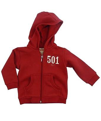 Levi s Sweat-shirt à capuche - Bébé (garçon) 0 à 24 mois - Rouge ... 5b6985d9101
