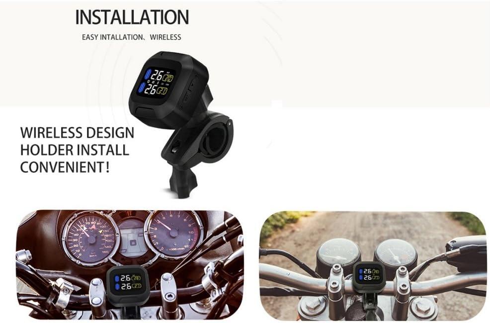 Yukiko New Digital LCD Auto Motocycle Tyre Pressure Gauge Car Maintenance