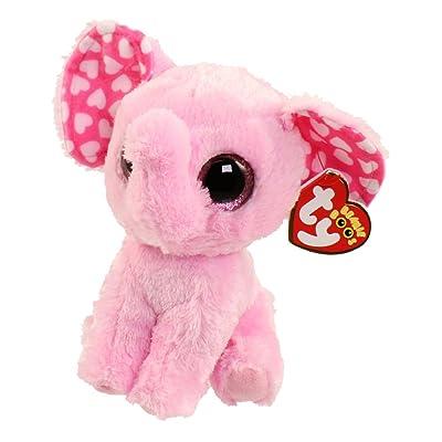 Unbranded TY Beanie Boos - Sugar The Elephant (Glitter Eyes) (6 inch): Toys & Games