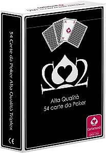 Cartamundi Poker Juego 54 Cartas Poker, Juego de Cartas, Juegos de Mesa, Estuche Negro: Amazon.es: Juguetes y juegos
