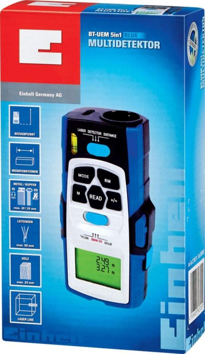 Einhell Multidetektor BT-UEM 5in1 BLUE