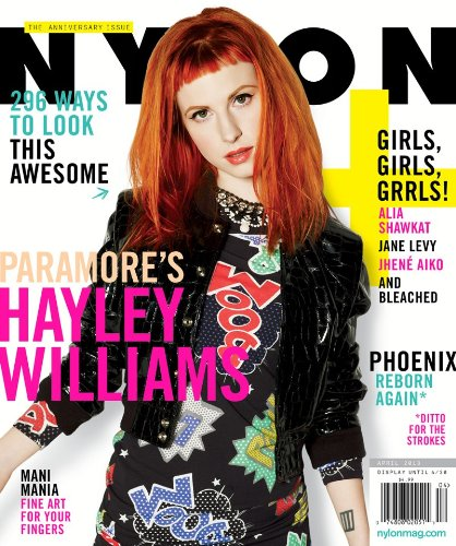 Download Nylon Magazine (April, 2013) Hayley Williams (Paramore) ebook