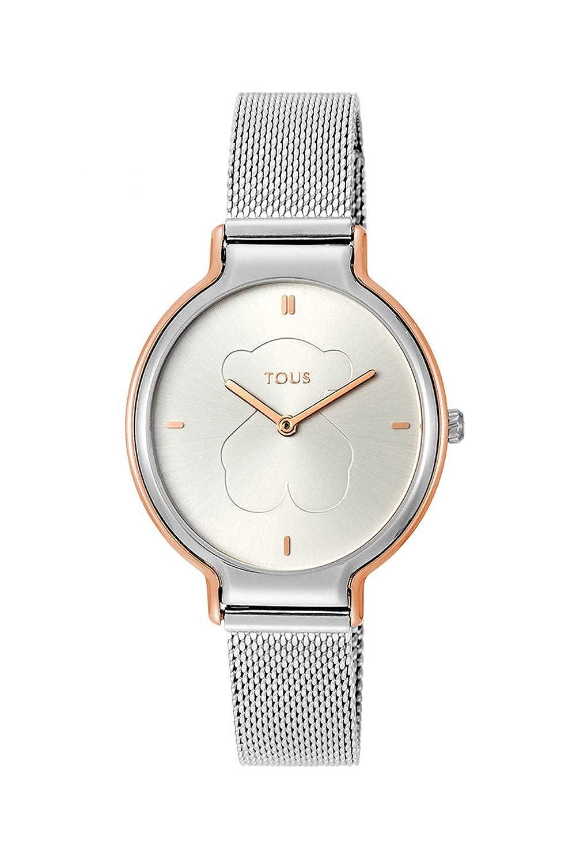 Reloj TOUS Real Bear bicolor de acero/IP rosado Ref:800350890: Amazon.es: Relojes
