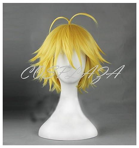 El de COSPLAZA de ratón cuidado de la peluca siete años luz de diseño de Blancanieves