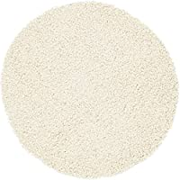 Unique Loom 3115723 Area Rug, Haddie Round Dining Table, Ivory