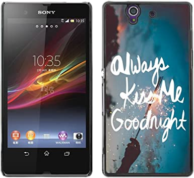 Smartphone duro funda protectora para Sony Xperia Z/funda TECELL ...