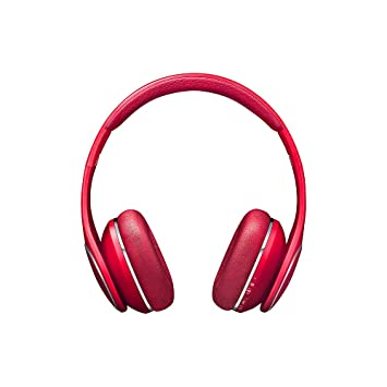 Samsung Level On - Auriculares inalámbricos Bluetooth, Color Rojo: Amazon.es: Electrónica