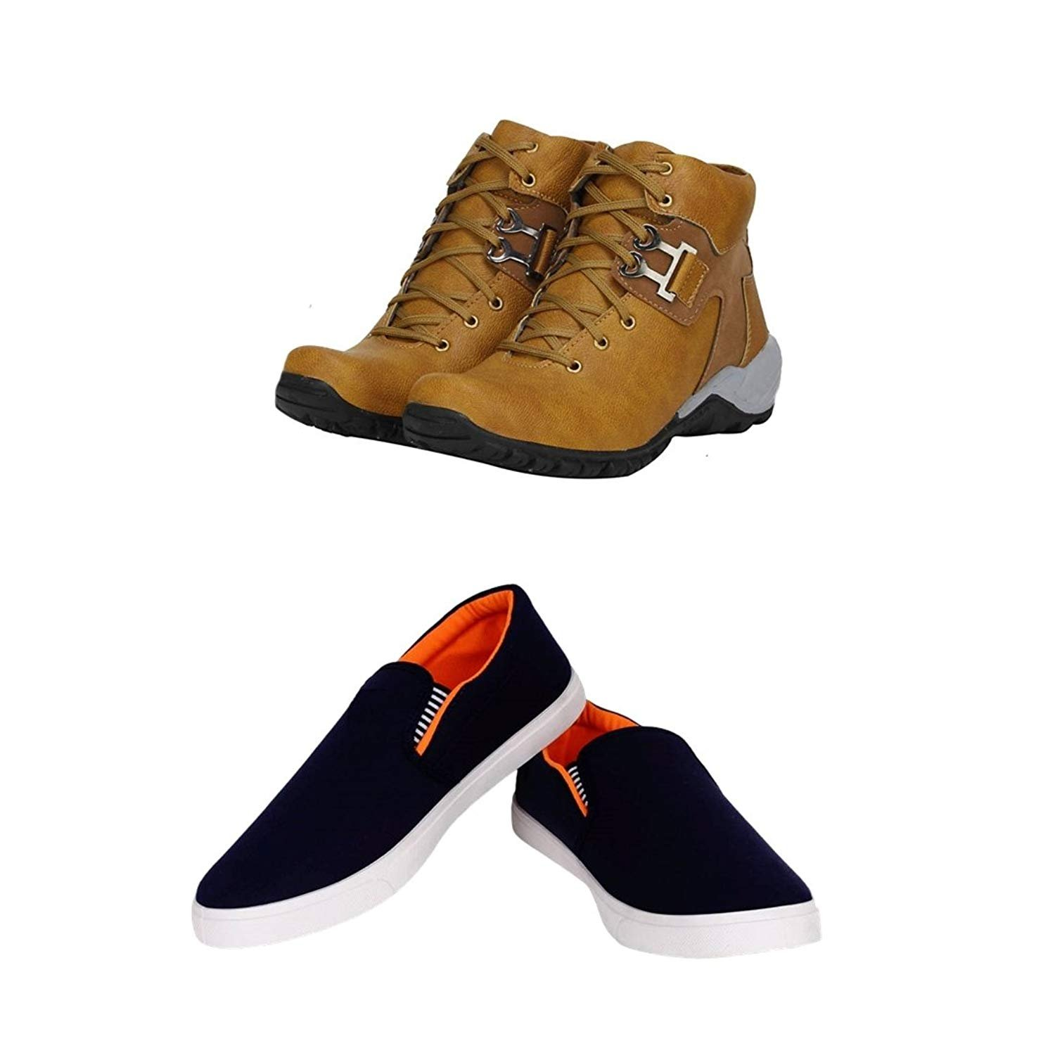 f8661a7c990b6 Jootiyapa-Boot-Loafer Combo for Men-8  Amazon.in  Shoes   Handbags