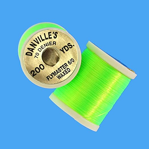 """.. Thread /"""" Danville /"""" Fly Master Plus Combo 100 yd Spool Floss, Fly Tying"""