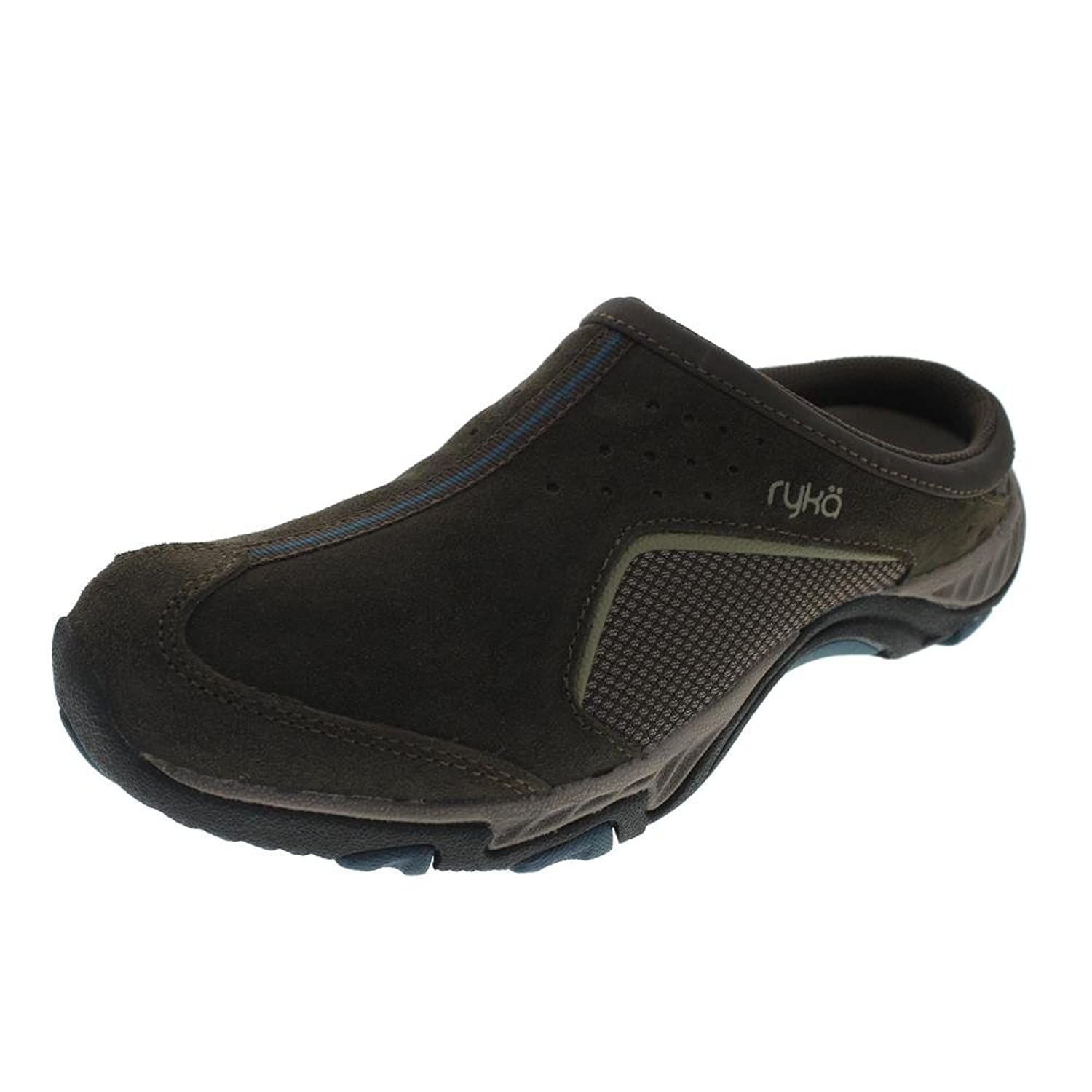 Ryka Outdoor Mule Brown_Teal