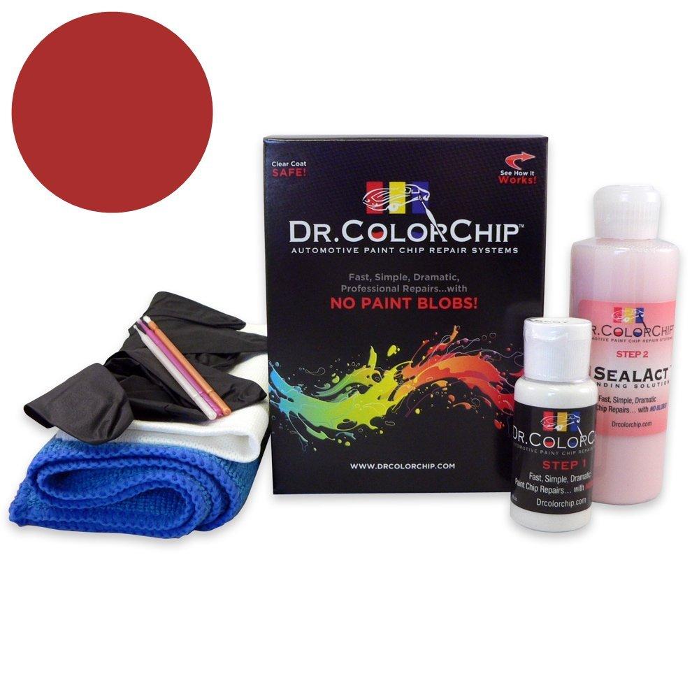 Dr. ColorChip BMW 3 Series Automobile Paint - Melbourne Red Pearl A75 - Road Rash Kit