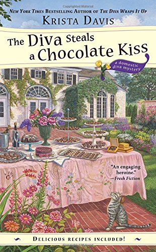book cover of The Diva Steals a Chocolate Kiss
