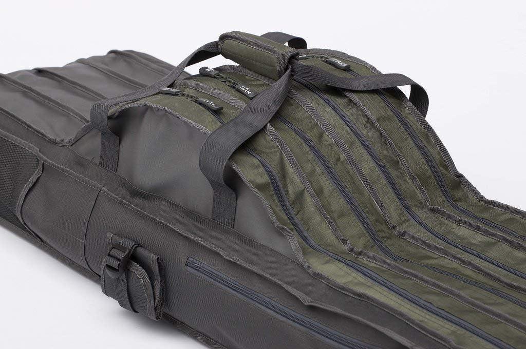 aus 100/% robustem Polyester 3 oder 4 F/ächern L/änge von 1,10m D-A-M Dam Rutentasche mit wahlweise 2 Modell 2019