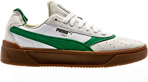 PUMA Cali 0 Vintage, White Amazon Green Gum: