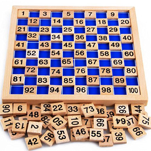 My childlike 1-100 wooden board digital Montessori early childhood toys digital board