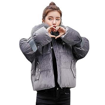 Oudan Abrigo de Invierno Abrigo de Mujer, Moda para Mujer Invierno Cálido Abrigo Grueso Abrigo