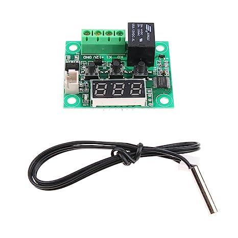 XH-W1209 Placa del Interruptor de Termostato Alta Precisión Control Digital de Temperatura