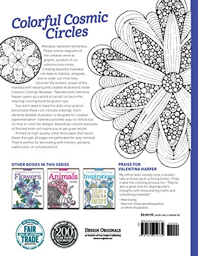 Creative Coloring Mandalas Art Activity Pages To Relax